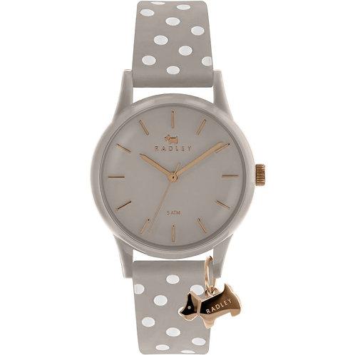 RADLEY Ladies Dot Dog Silicone Strap Watch - RY2642
