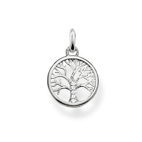 Thomas Sabo Silver Tree of Love Necklace - KK0003-KC0002