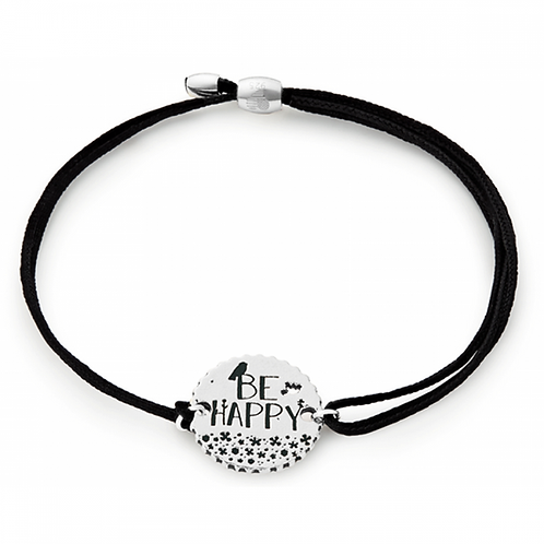 Alex and Ani Kindred Cord BE HAPPY Bracelet -A17KCBHS