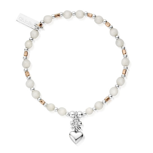ChloBo Silver Wrap Me in Love Bracelet - MBWMO743