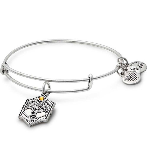 Alex and Ani Rafaelian Silver 'Tree of Life' Charm Bangle - A17EBTOLRS
