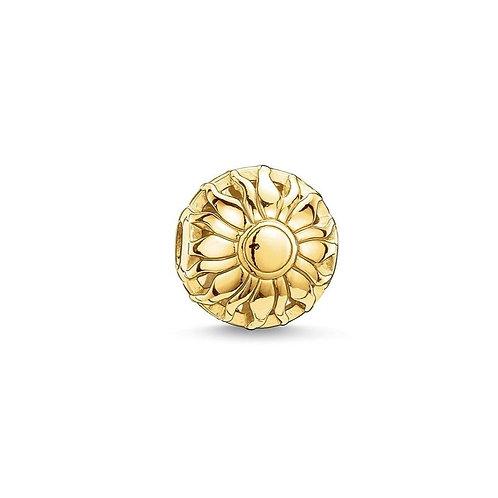 Thomas Sabo Karma Gold Sunrise Bead Charm -K0015-413-12