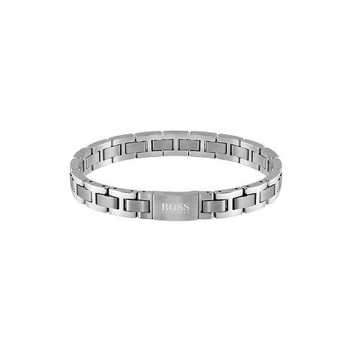 Hugo Boss Men's Essentials Stainless Steel Link Bracelet - 1580036