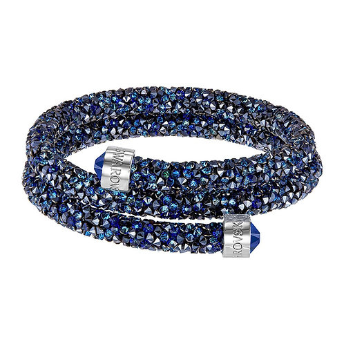 SWAROVSKI Double Crystaldust Bracelet in Blue  - 5255903 - SMALL