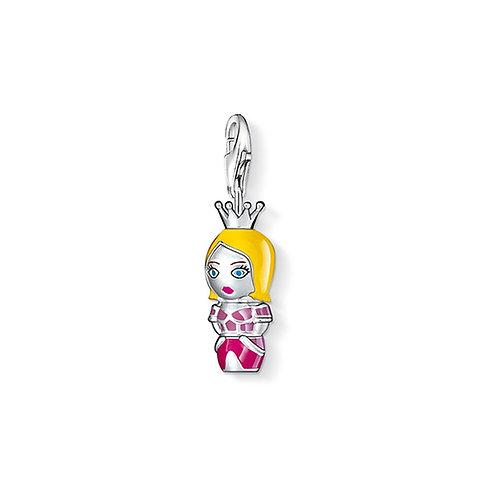 Thomas Sabo Silver Princess Doll Charm - 0808-007-7