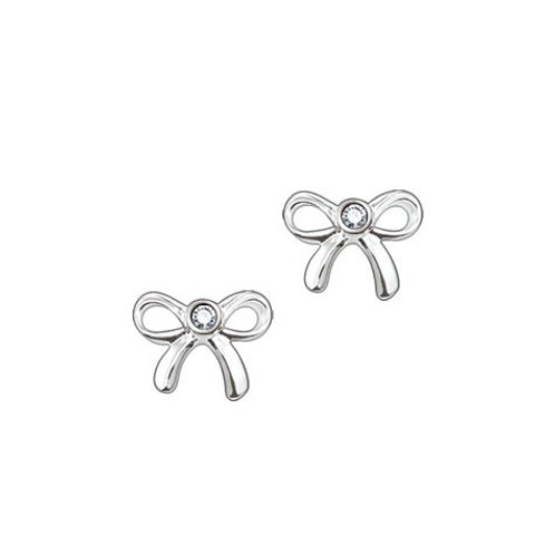 Thomas Sabo Silver Delicate Bow Stud Earrings - D_ H0006-153-14