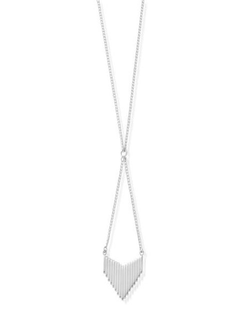 ChloBo Sterling Silver Large Arrow Head Necklace
