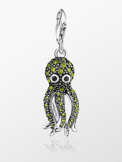 Thomas Sabo Green CZ Octopus -1047-051-6