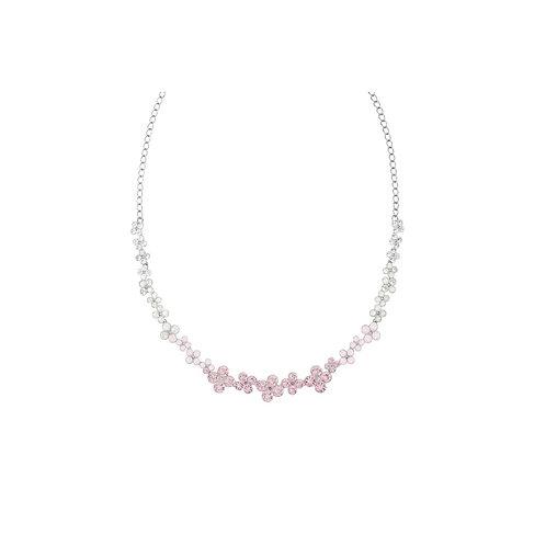 SWAROVSKI Cherie Multi Pink Flower Crystal Necklace - 5110762