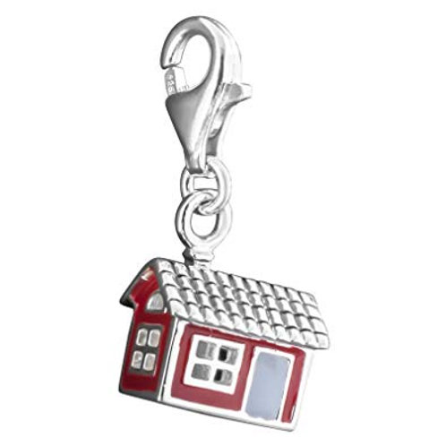 Thomas Sabo Silver Swedish House Charm - 1201-664-10