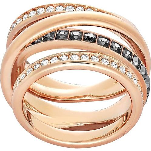 SWAROVSKI Dynamic Rose Gold Tone Ring - 5143411