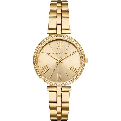 Michael Kors Gold Tone Maci Bracelet Strap Watch MK3903