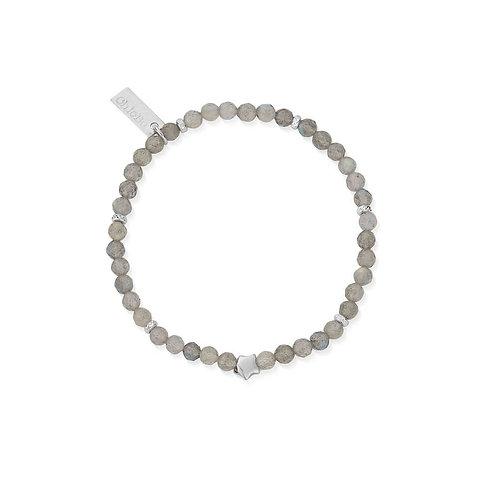ChloBo Sterling Silver and Labradorite Dark Skies Bracelet - SBLSS