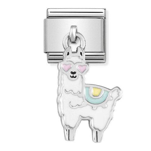 Nomination Silvershine Llama Dangle Charm Link - 331805/14