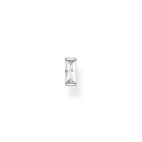 Thomas Sabo Silver with Clear CZ Baguette Ear Stud - H2185-051-14