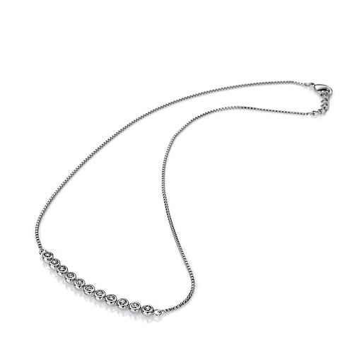 Emozioni Luminoso Clear CZ Necklace - EN002