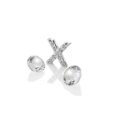Anais by Hot Diamonds Sterling Silver Letter X Charm - AC092