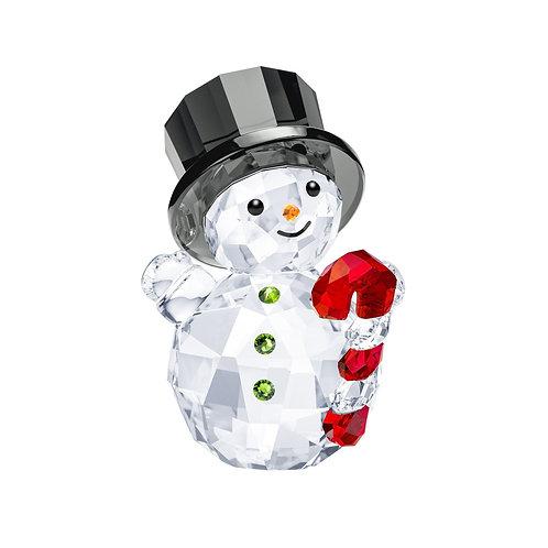 SWAROVSKI Crystal Christmas Snowman with Candy Cane - 5464886