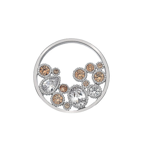 Emozioni by Hot Diamonds Spirito Libero Freedom CZ Coin