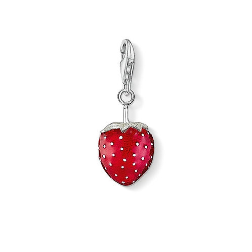 Thomas Sabo Silver Strawberry Charm - 0451-007-10