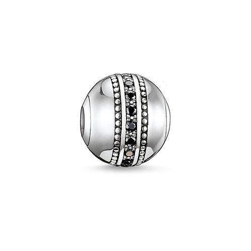 Thomas Sabo Karma Fast Lane Silver Bead Charm - K0058-051-11