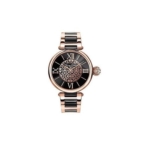 Thomas Sabo Ladies Rose Gold Karma Steel Strap Watch - WA0280
