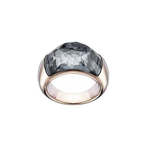 SWAROVSKI Rose Gold Tone Dome Ring - 5184250