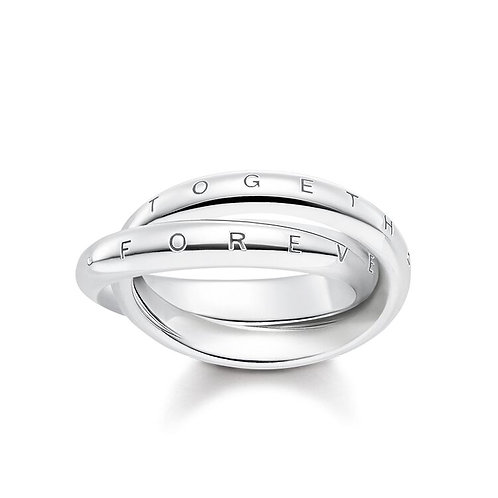 Thomas Sabo Silver Together Forever Ring - TR2129-001-21-50