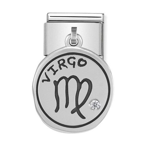 Nomination Silvershine Virgo Starsign Dangle Charm Link - 331808/06