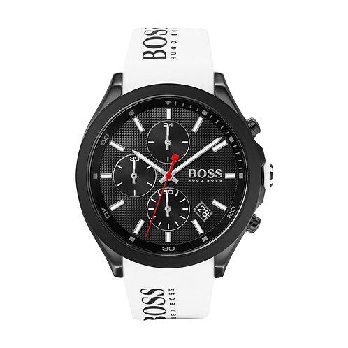 Hugo Boss White Velocity Silicone Band Men's Watch - 1513718