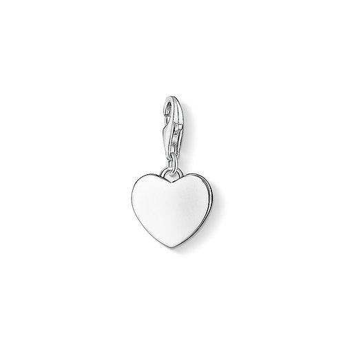 Thomas Sabo Silver Love Heart Charm - 0766-001-12