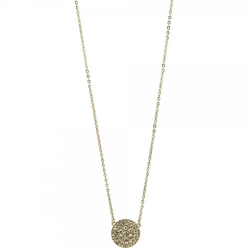 Fossil Women's Gold PVD Coated Fancy Necklace