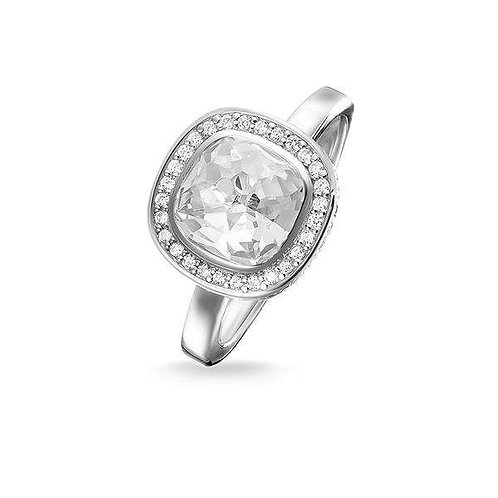 Thomas Sabo Silver Clear CZ Secret of Cosmo Ring - TR2029-051-14-54