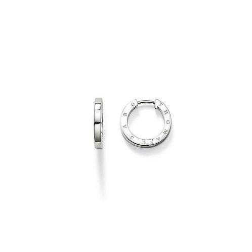 Thomas Sabo Small Silver Hoop Earrings - CR568-001-12