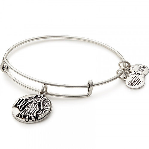 Alex and Ani Rafaelian Silver VIRGO Starsign Bangle -A16EB60RS