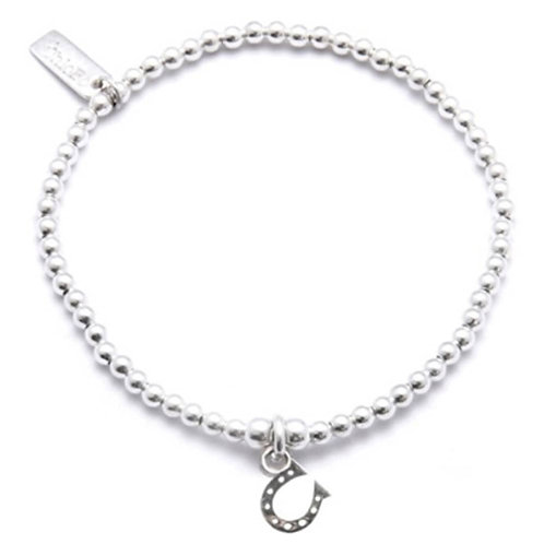 ChloBo Silver Iconic Horseshoe Bracelet - SBCC423