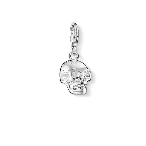 Thomas Sabo Silver Skull Charm - 0362-001-12