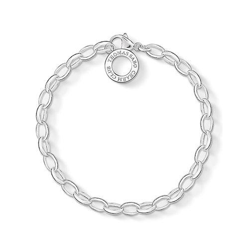 Thomas Sabo Silver Charm Club Classic Bracelet - X0031-001-12