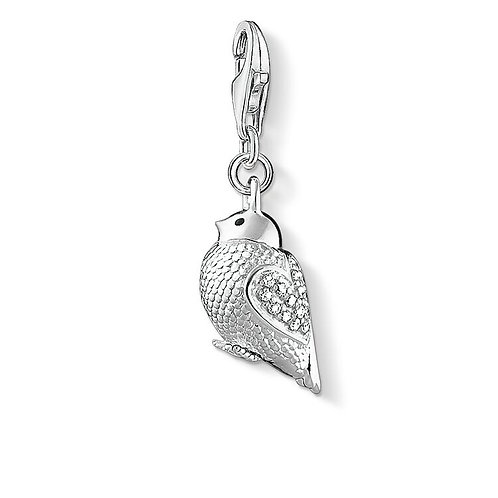 Thomas Sabo Silver Little Birdie Charm - 1450-041-14