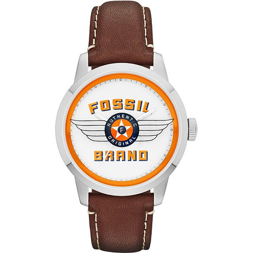 FOSSIL Limited Edition Townsman Leather Strap Watch - FS4896