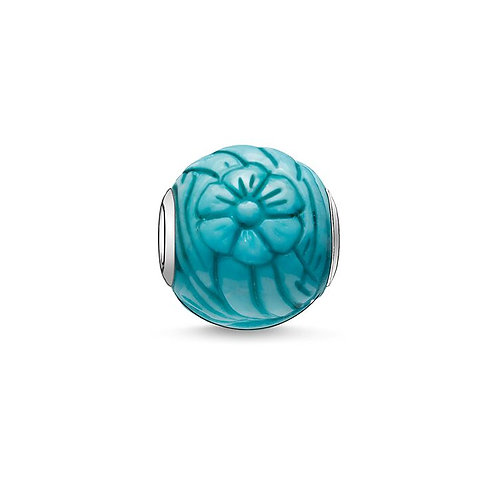 Thomas Sabo Karma Summer Flowers Bead Charm - K0023-589-17