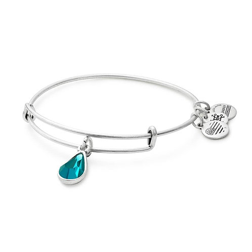 "Alex and Ani ""December Birthstone"" Charm Bangle - A17EB51RS"