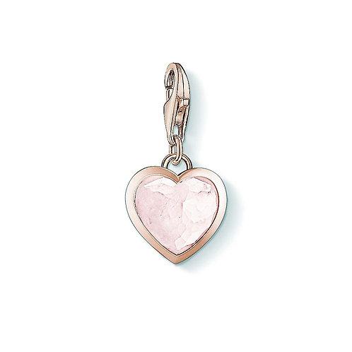 Thomas Sabo Rose Gold Plated Heart Charm -1363-903-14