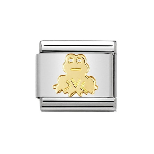 Nomination Gold Frog Charm Link - 030113/10