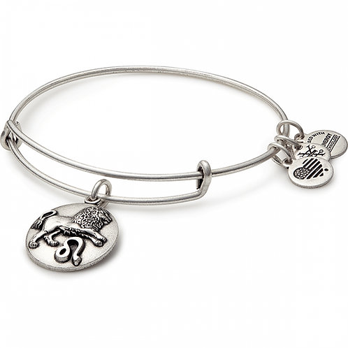 Alex and Ani Rafaelian Silver LEO Starsign Bangle -A16EB54RS