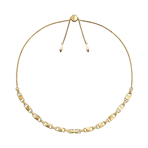 Michael Kors Yellow Gold Mercer Link Necklace