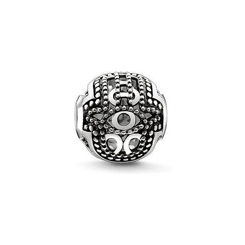 Thomas Sabo Karma Hand of Fatima Bead Charm - K0219-001-12