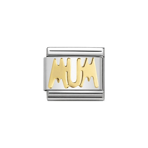 Nomination Gold Mum Charm Link - 030107/14
