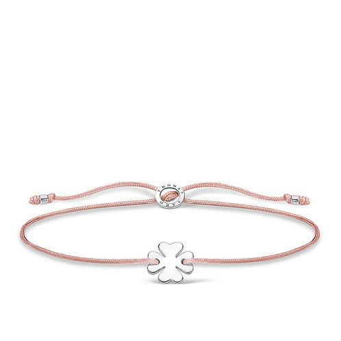 Thomas Sabo Silver Clover Friendship Bracelet - A1995-173-19-L20v
