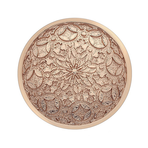 Emozioni by Hot Diamonds Rose Gold Mystical Map Coin - EC154